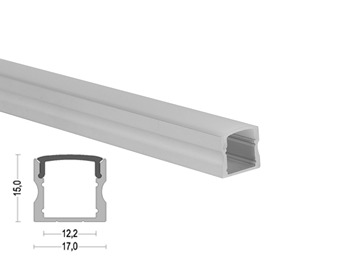 K15 17x15mm LED Aluminum Profile