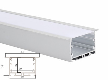 KN22 65x35mm Recessed LED Linear Lights Profile