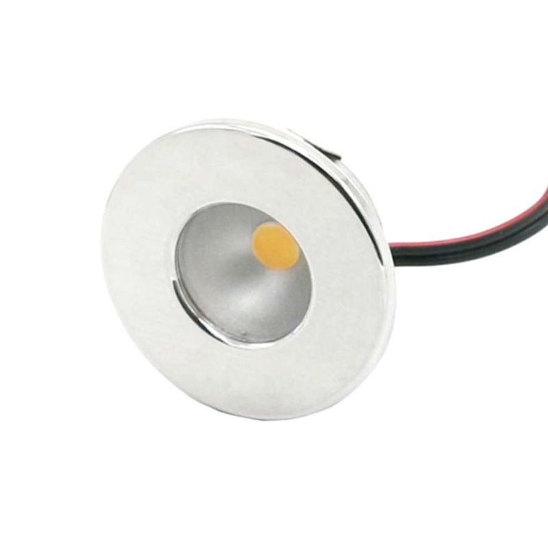 Mini LED Spot Light 1W DC12V Recessed LED Cabinet Light