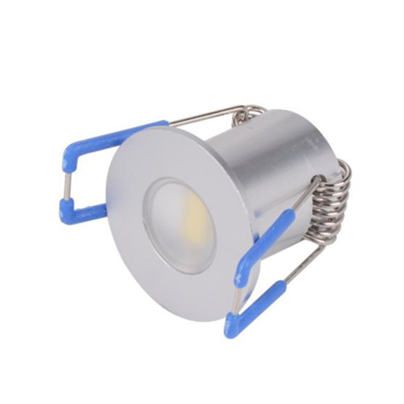 2W DC12V Mini Spot Light Round LED Cabinet Light - 副本