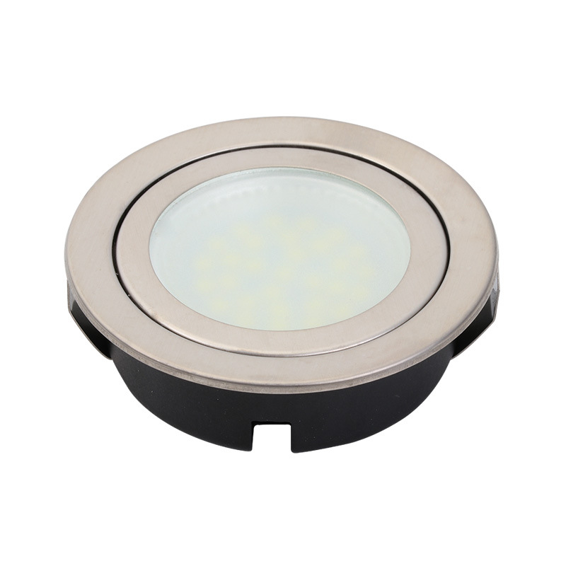 Round Kitchen Under Cabinet Lights Replacement 2.5W LED Cabinet Lights Recessed